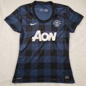 Nike Authentic Manchester United soccer jersey!